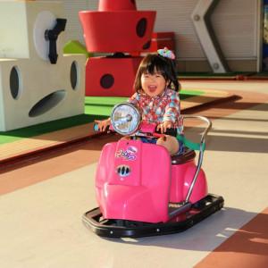 鈴鹿サーキットホテルのピンキーバイク