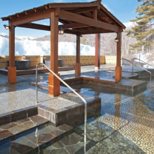 池の平ホテルの大露天風呂2