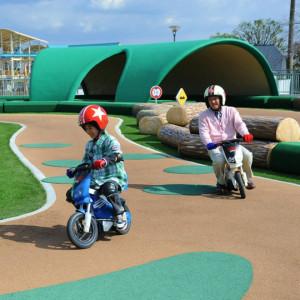 鈴鹿サーキットホテルのツーリングバイク