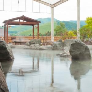 池の平ホテルの大露天風呂
