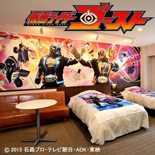 湯沢東映ホテルの仮面ライダールーム