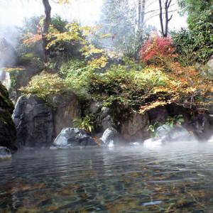 湯沢東映ホテルの露天風呂