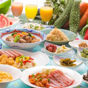 残波岬ロイヤルホテルの朝食