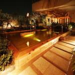 舞浜ユーラシアの露天風呂