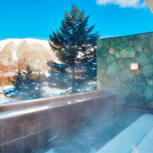 ウエスティンルスツの露天風呂