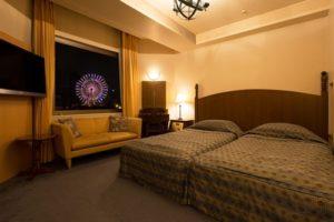 ハイランドリゾートの部屋