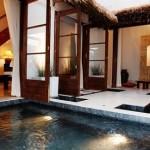 コルテラルゴの温泉プール