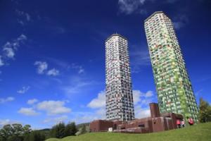 この2つの棟がザ・タワーです☆