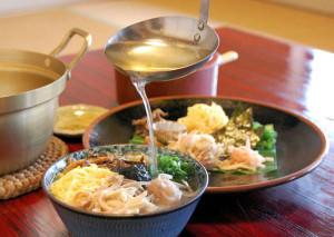 ばしゃ山村の料理