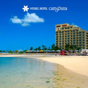 ベッセルホテルのビーチ