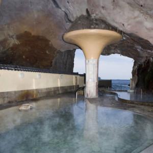 一番人気の洞窟風呂!一度は入ってみたい!