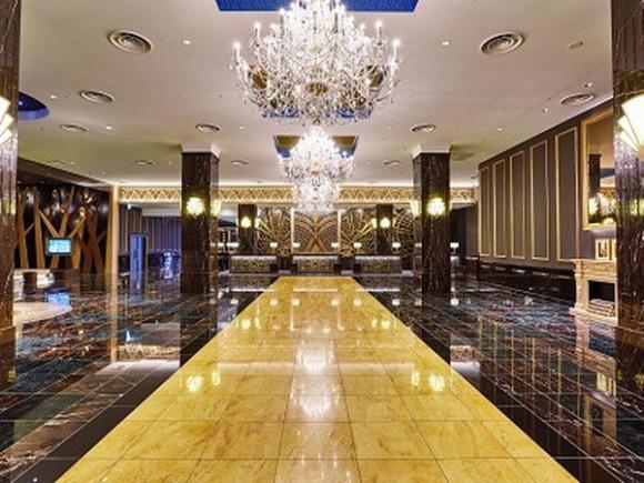 ザパークフロントホテルのエントランス