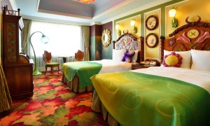 東京ディズニーランドホテルのティンカーベルの部屋
