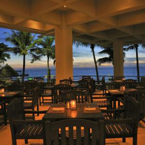 ムーンビーチの朝食会場2