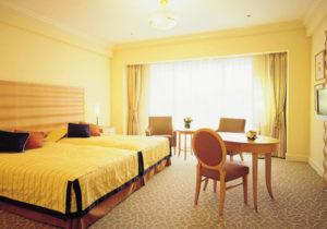 ホテルオークラ東京ベイのお部屋