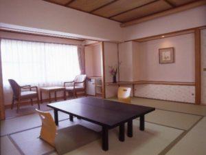 ガーデンホテルオリーブの部屋