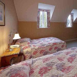 フォレストヴィラのベッドルーム