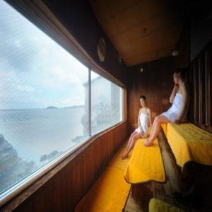 ホテル観洋のサウナ