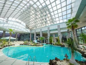 ホテル瑞鳳の屋内プール