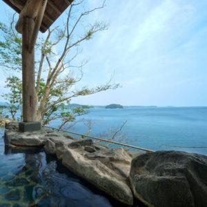 ホテル観洋の露天風呂3