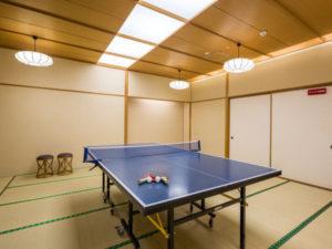 ホテル瑞鳳の卓球