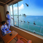 ホテル観洋の部屋からの眺め