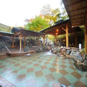 ホテル瑞鳳の露天風呂2