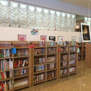 ホテル観洋の図書コーナー