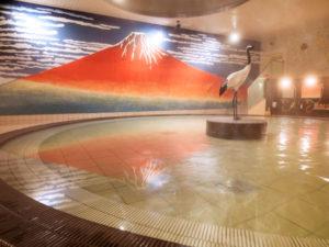 箕面観光ホテルの大浴場2