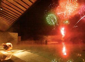 洞爺サンパレスの花火2