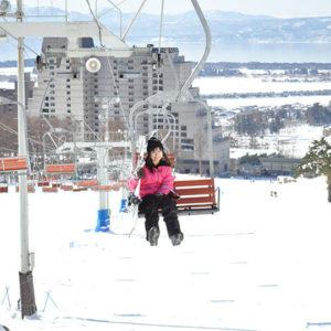 リステル猪苗代のスキー場