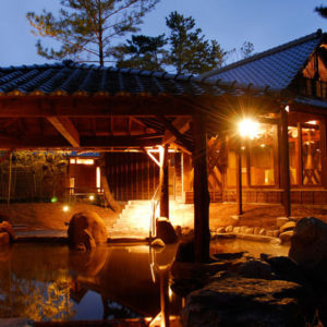 シェラトングランデの大浴場1
