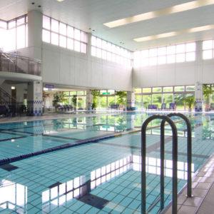 エピナール那須の室内プール