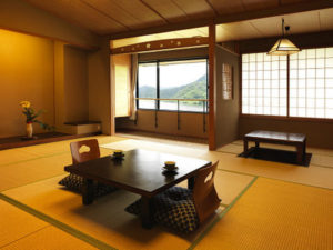 大江戸温泉きのさきの和室