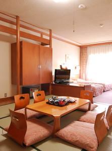 池の平ホテルの和洋室2