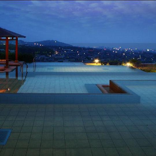 杉乃井ホテルの棚湯