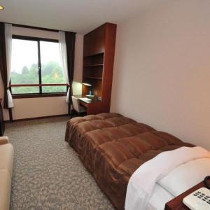 鈴鹿サーキットホテルのシングルルーム