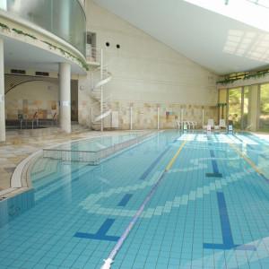 鈴鹿サーキットホテルの温水プール