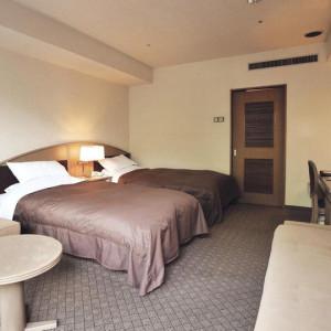 鈴鹿サーキットホテルのツインルーム