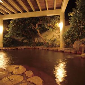 残波岬ロイヤルホテルの露天風呂