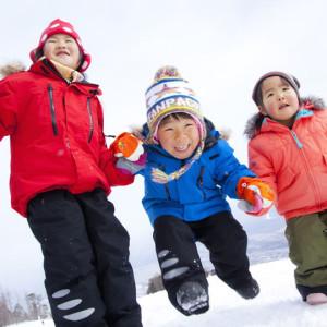 リゾナーレ八ヶ岳で雪遊び