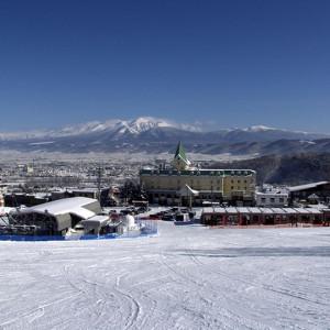 ナトゥールヴァルト富良野目の前のスキー場