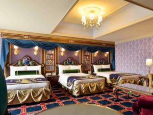 東京ディズニーランドホテルの美女と野獣ルーム