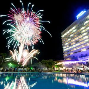残波岬ロイヤルホテルの夏のイベント
