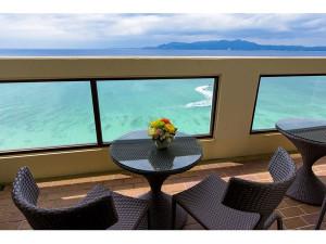 ベストウェスタン沖縄幸喜ビーチからの景色