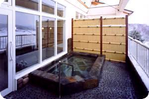 いちいの宿の露天風呂
