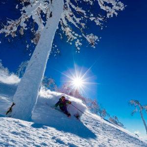 ルスツリゾートのスキー