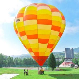 ルスツリゾートの熱気球