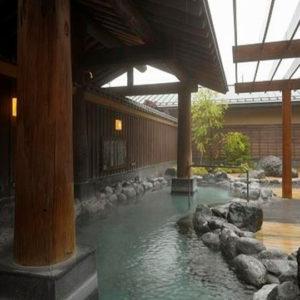 ハイランドリゾートの露天風呂