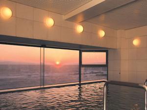 佐島マリーナの大浴場